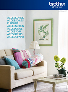 Brother Accessoires catalogus 2017