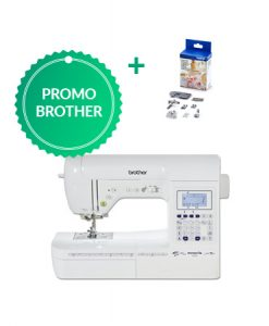 Brother F410 met gratis couturekit