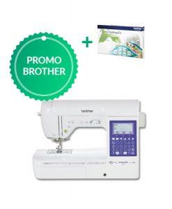 Brother F460 met gratis Quiltingset