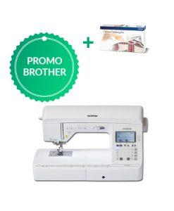 Brother NV1100 met gratis Quiltingset