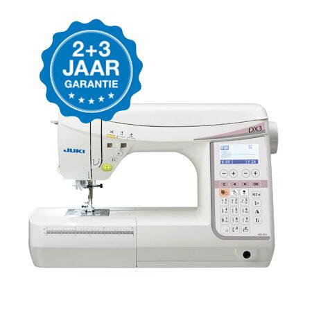 JUKI-HZL-DX3-garantie