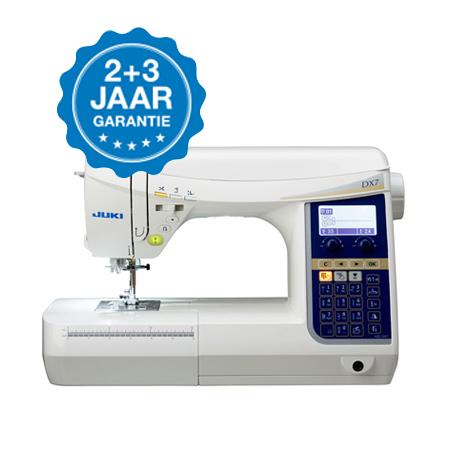 JUKI-HZL-DX7-garantie