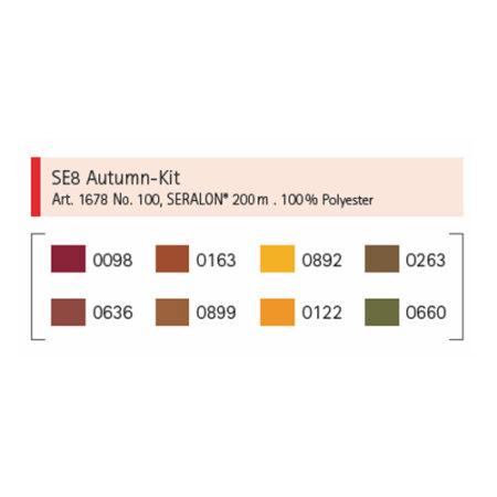 SE8 Kit Autumn Kleuren