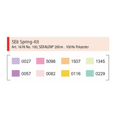 Mettler SE8 Kit Spring Kleuren